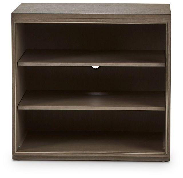 Highline Gray Open Cabinet (1)