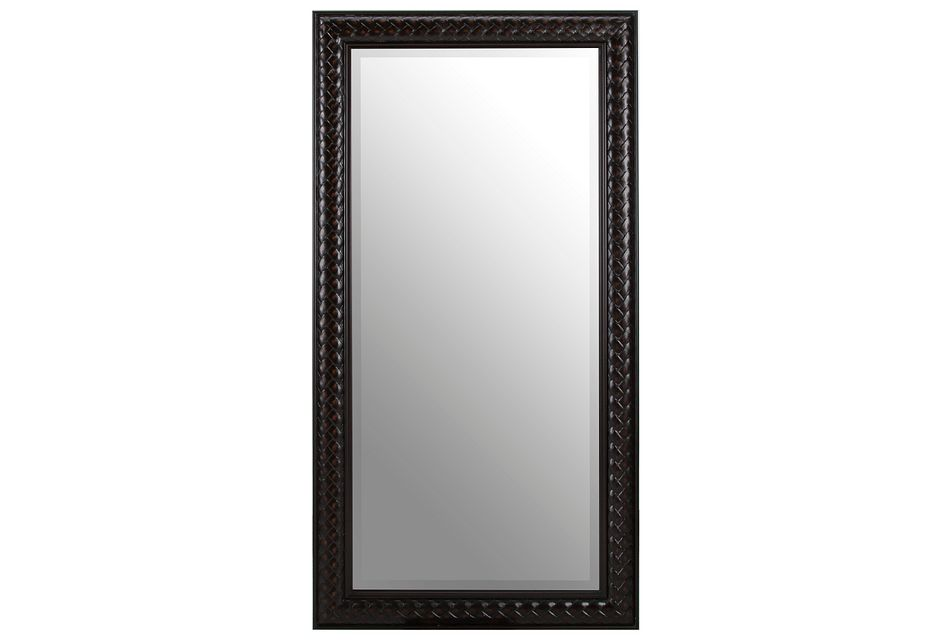 Pacific Brown Floor Mirror