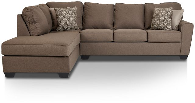 Calicho Dark Taupe Micro Left Chaise Sectional (3)