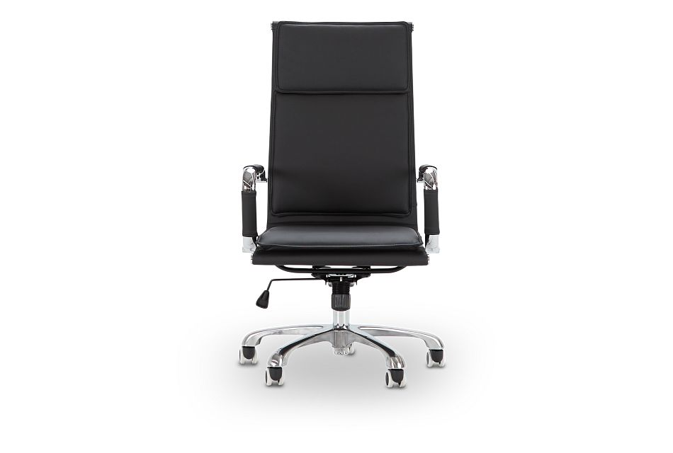 Arvada Black Uph Desk Chair, %%bed_Size%% (3)