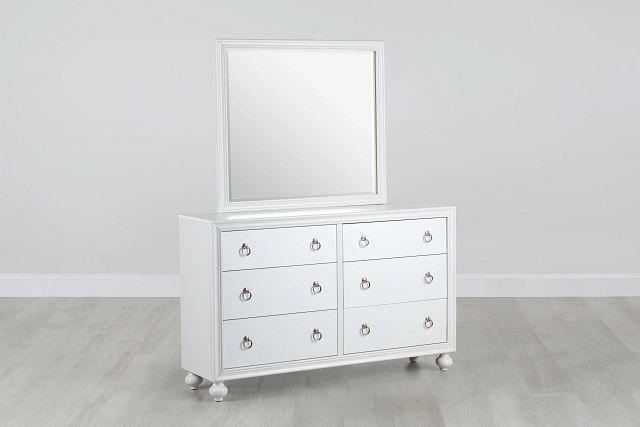 Isabella White Youth Dresser & Mirror (0)