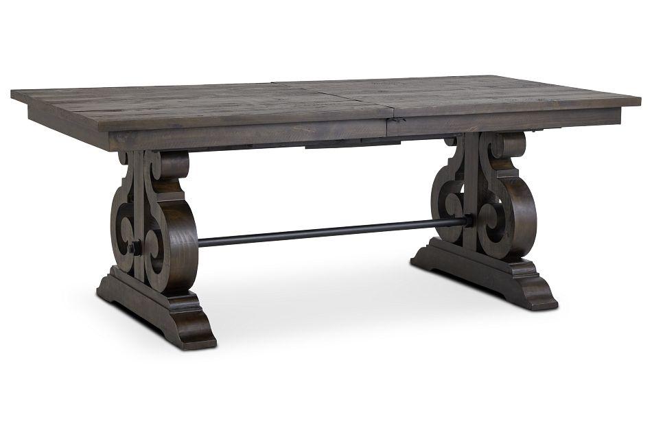 Sonoma Dark Tone Trestle Table,  (2)