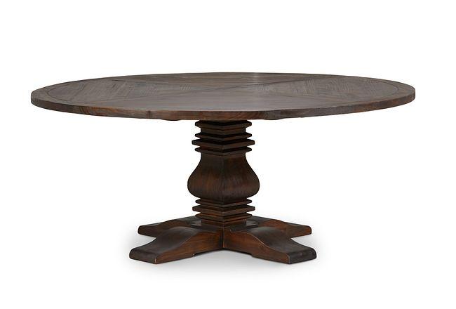 """Hadlow Mid Tone 72"""" Round Table"""