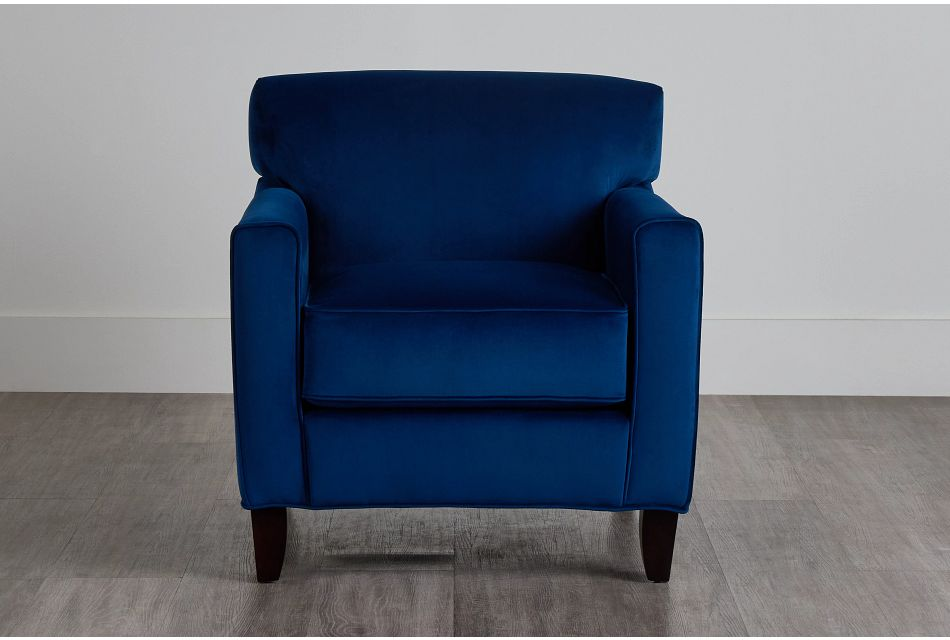 Royale Blue Accent Chair,  (0)