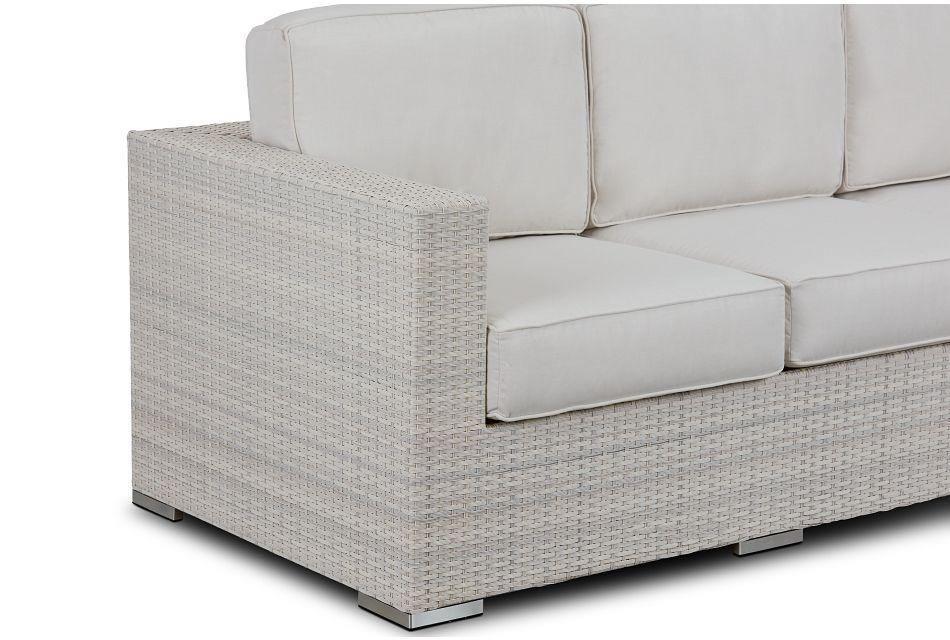 Biscayne White Sofa