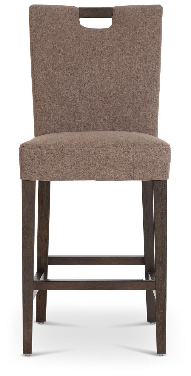 "Stout Brown 24"" Upholstered Barstool (3)"