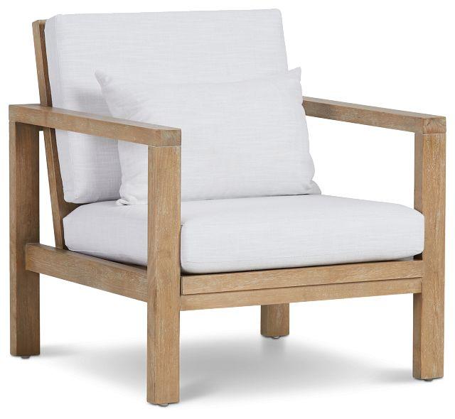Nantucket Light Tone Woven Accent Chair (1)