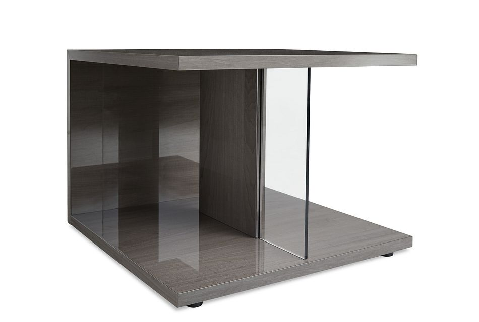 Athena Dark Gray End Table