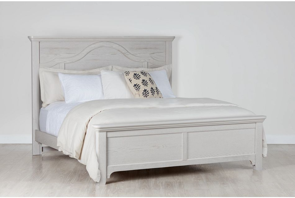 Bungalow Gray Panel Bed