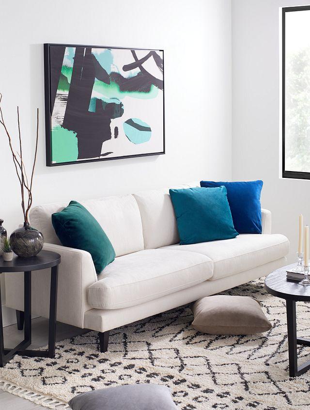 Fremont Light Beige Fabric Sofa (3)