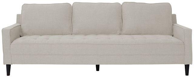 """Eli 90"""" Taupe Micro Sofa (0)"""