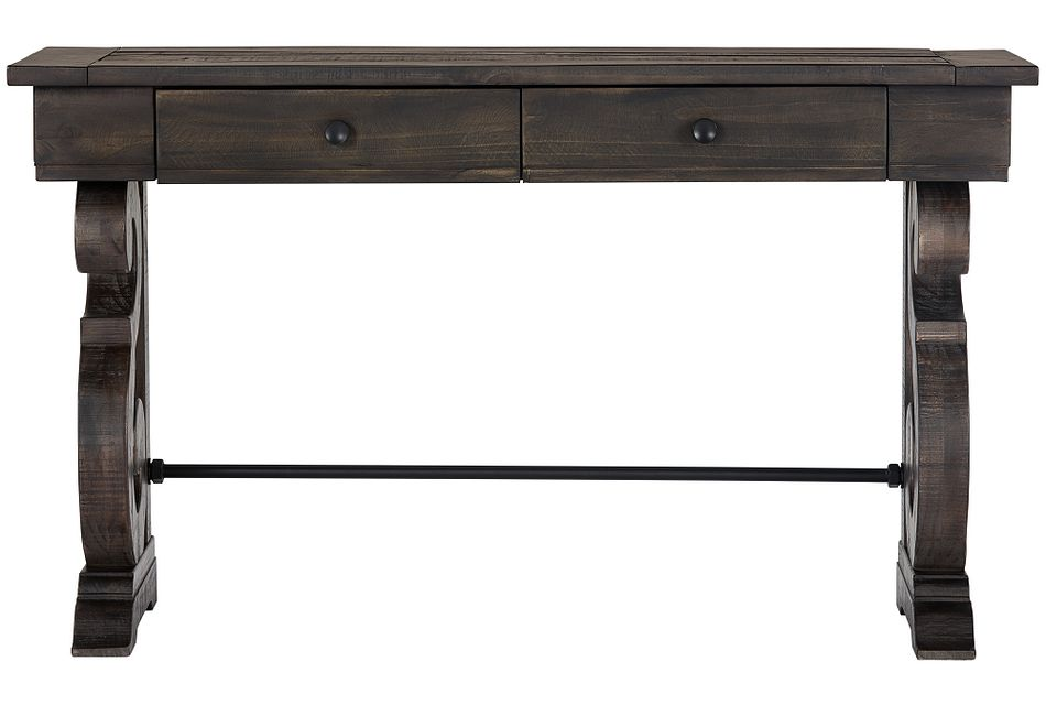 Sonoma Dark Tone  Storage Sofa Table