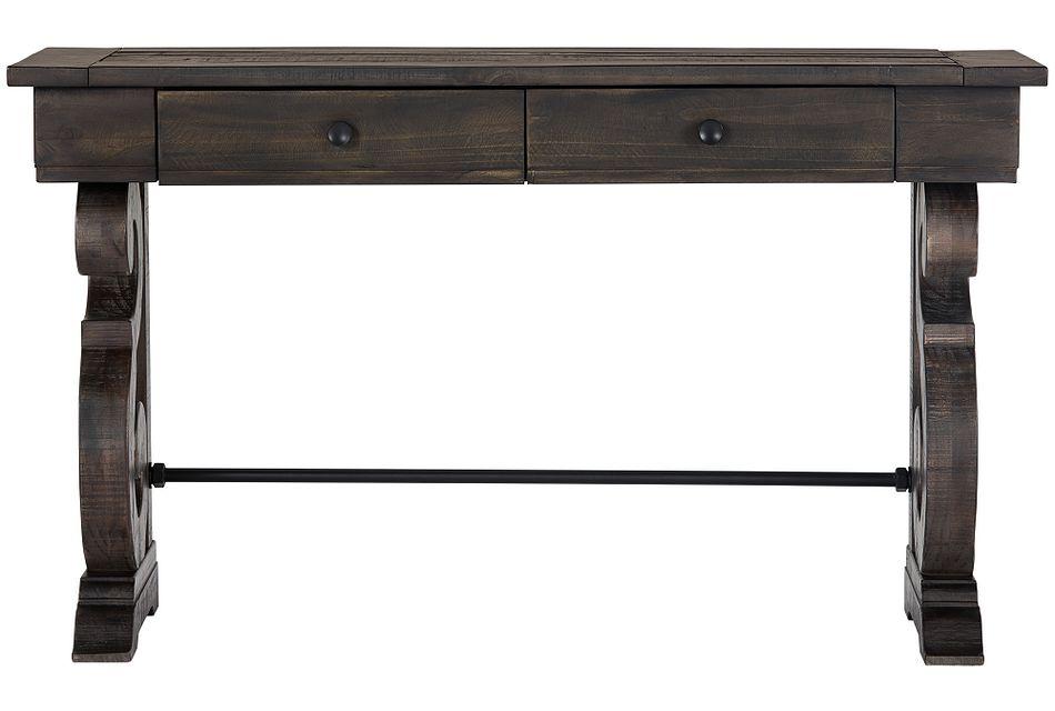 Sonoma Dark Tone Storage Sofa Table