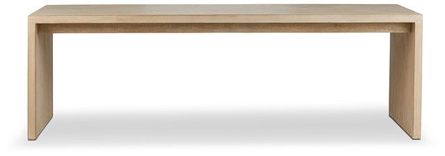 Merwin Light Tone Wood Rectangular Table (1)