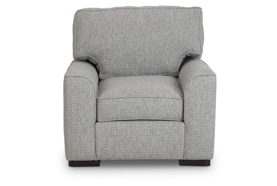 Austin Gray Fabric Chair,  (3)