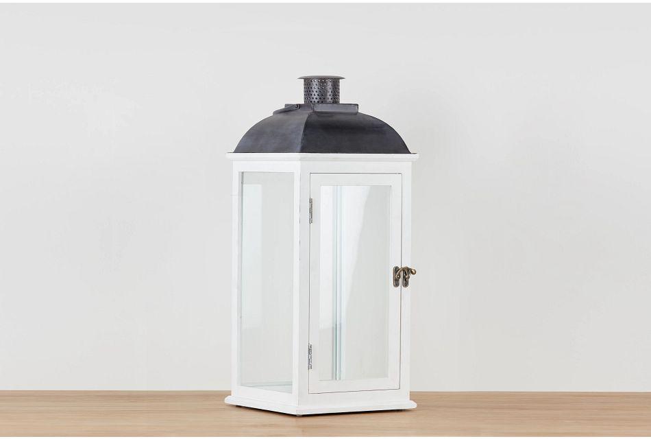Greensville White X-large Lantern