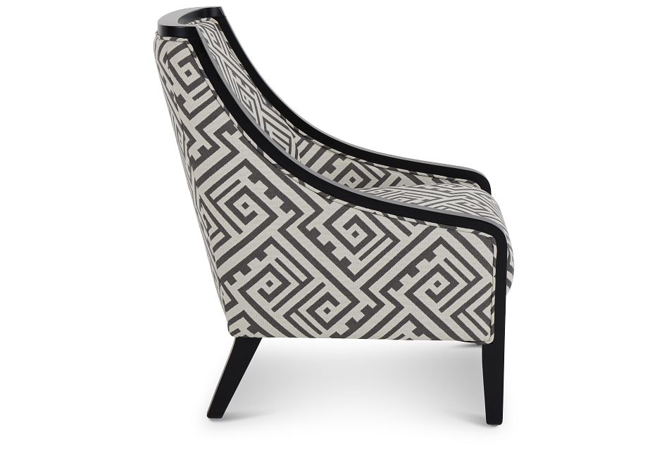 Tribeca2 Multicolored Fabric Accent Chair,  (2)