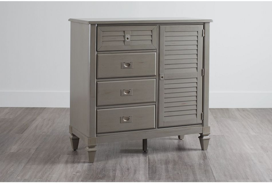 Marina Gray Door Chest
