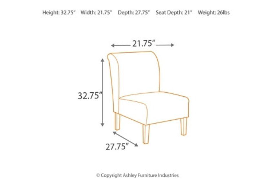 Laryn Multicolored Micro Accent Chair