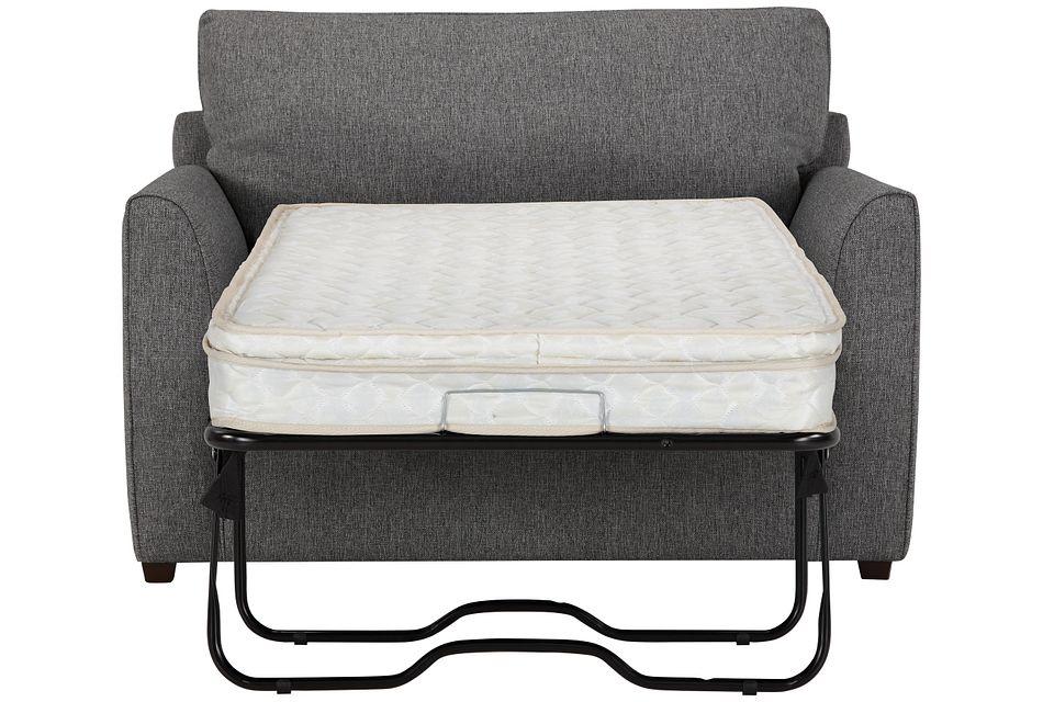 Asheville Gray Fabric Innerspring Sleeper, Twin (0)
