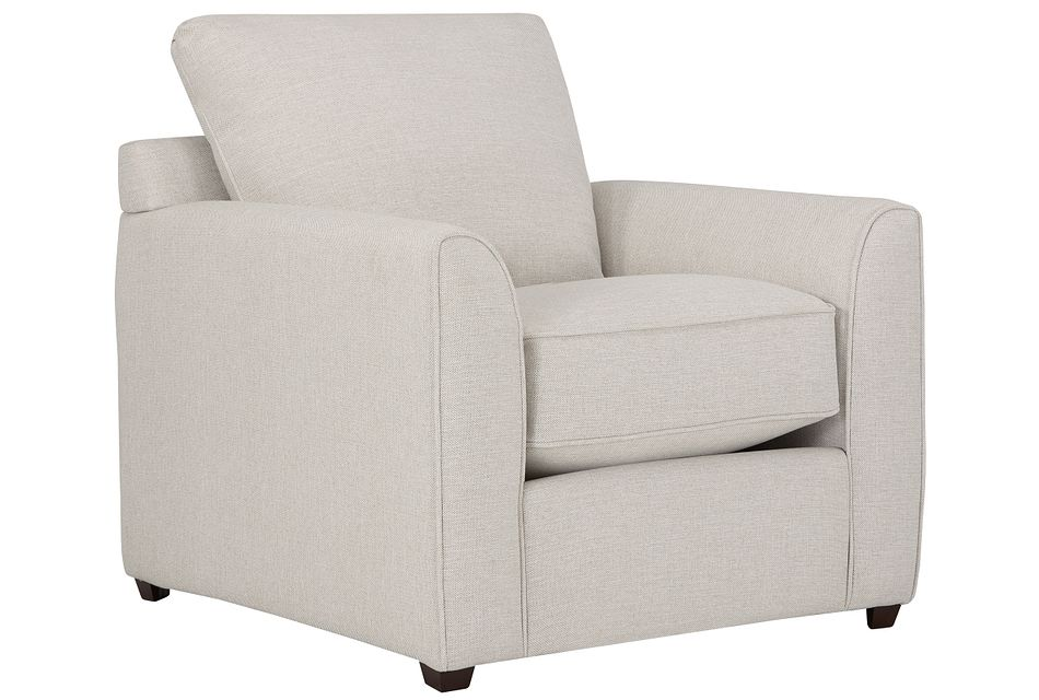 asheville light taupe fabric chair