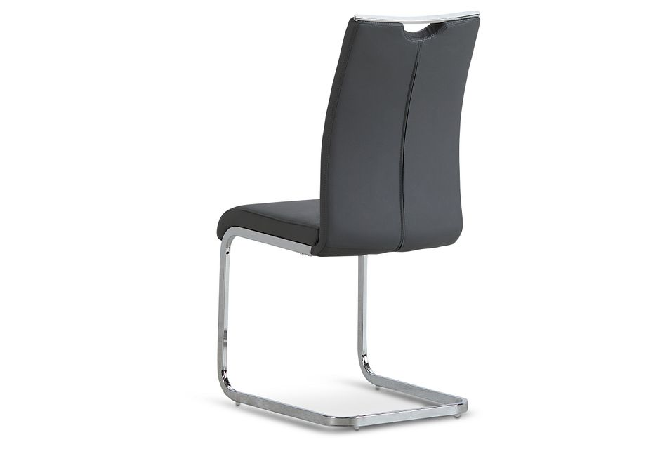 Treviso Gray Upholstered Side Chair
