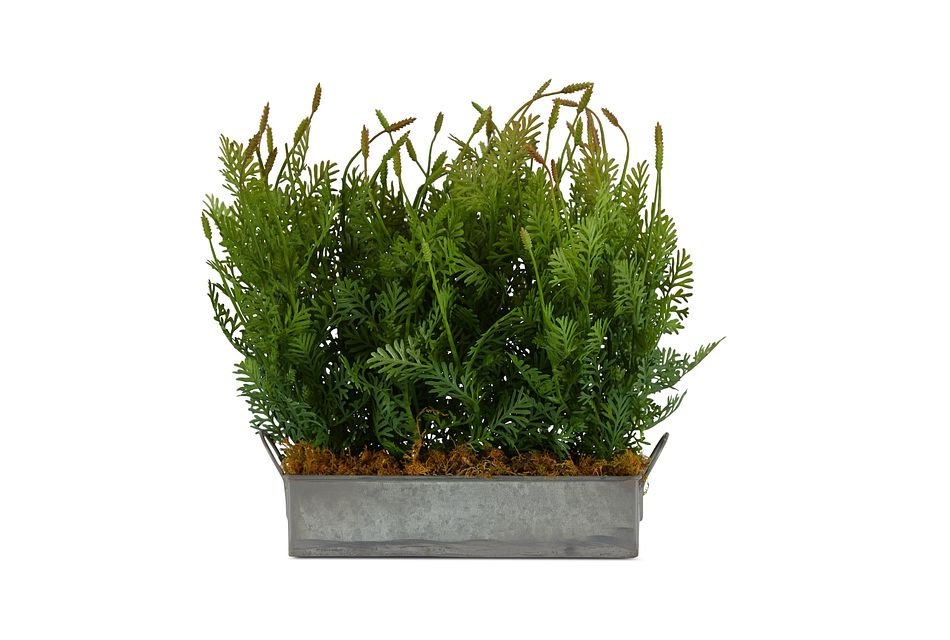 Fernleaf Cement Square Greenery