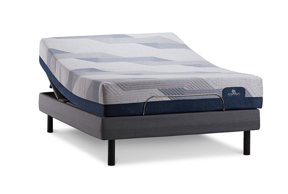 Serta Icomfort Blue 300 Firm Mperfect4 Adjustable Mattress Set