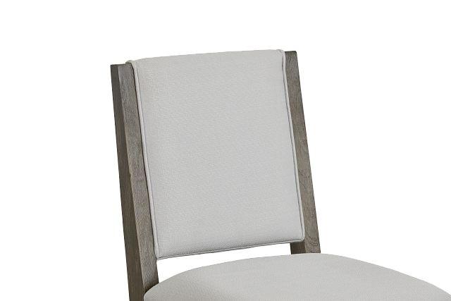 Bravo Dark Tone Upholstered Side Chair