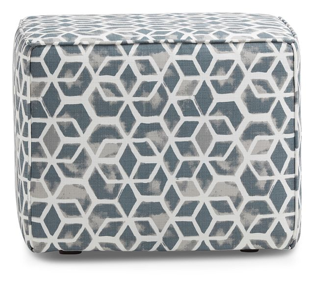 Celtic Gray Geometric Indoor/outdoor Accent Ottoman (0)
