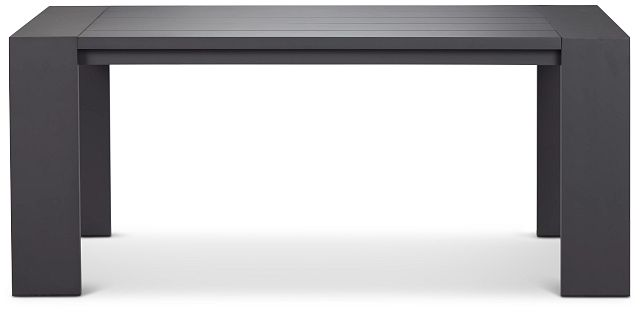 "Linear Dark Gray 70"" Rectangular Table (0)"