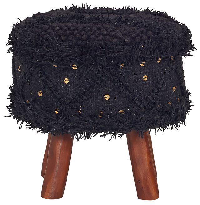 Roja Black Stool (1)
