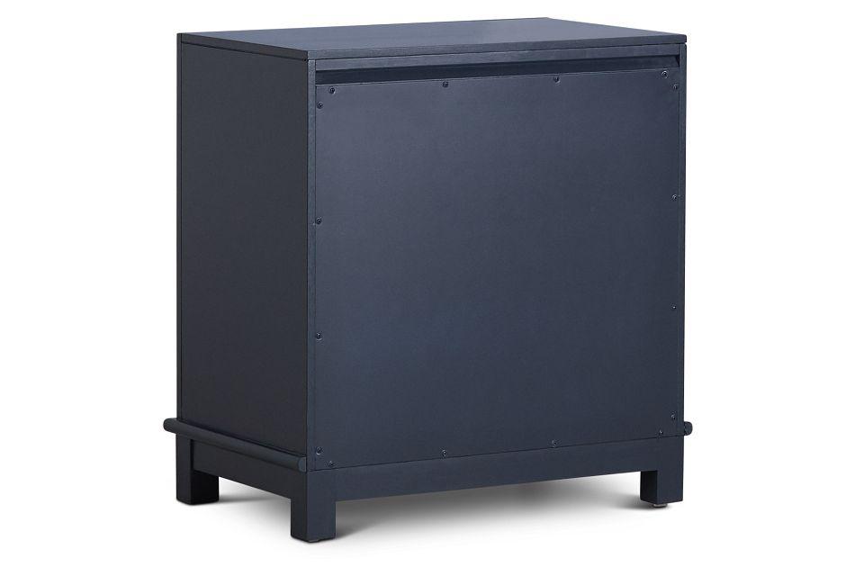 Ryder Dark Blue 2-drawer Nightstand
