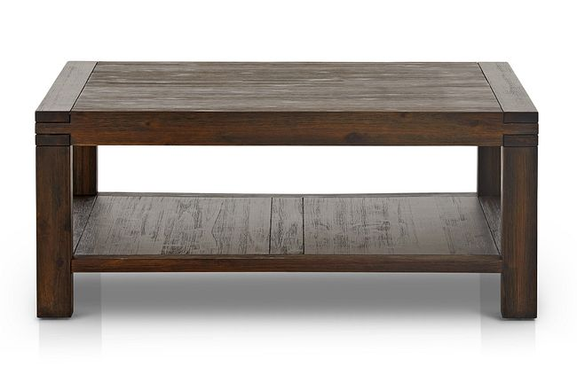 Holden Dark Tone Square Coffee Table