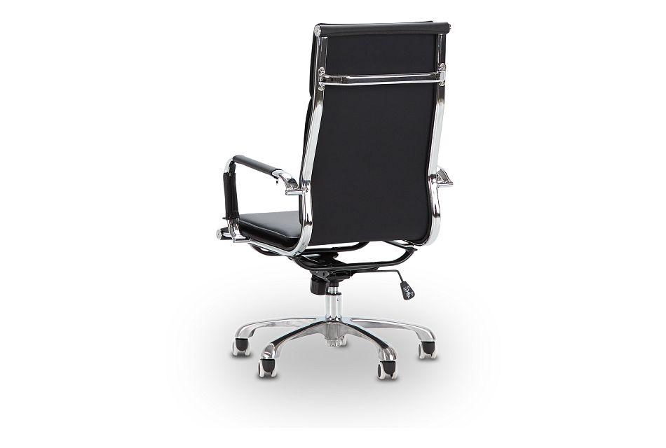Arvada Black Uph Desk Chair
