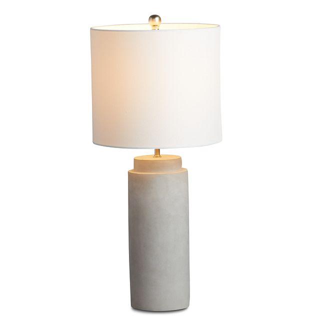 Aya Silver Table Lamp (3)