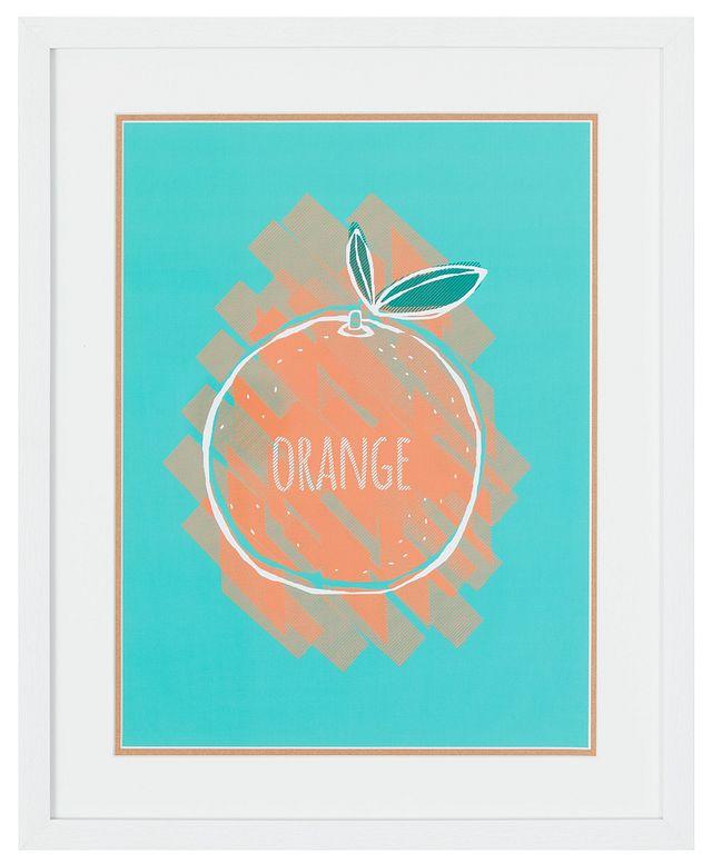 Orange Multicolored Framed Wall Art (0)