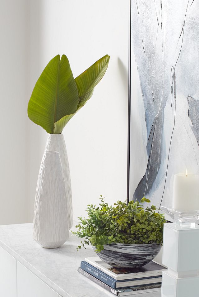 Lyra Large Gray Vase (2)