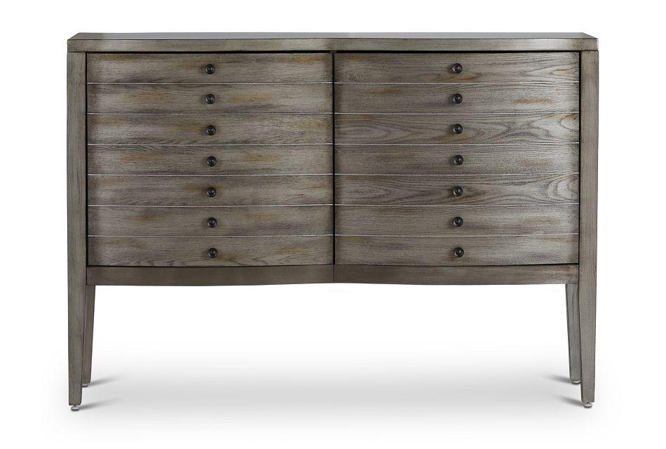 Maylin Gray Two-Door Cabinet,