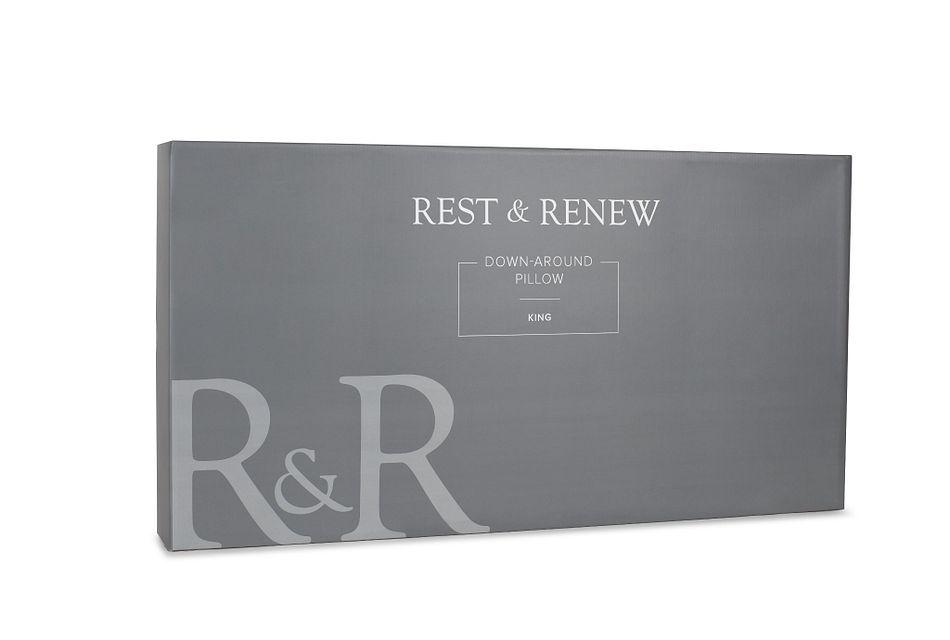 Rest & Renew Down Around Back Sleeper Pillow