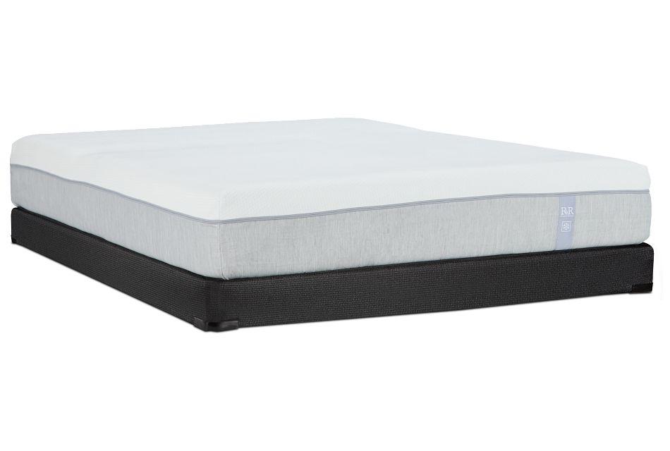 """Rest & Renew Memory Foam 10"""" Low-profile Mattress Set"""