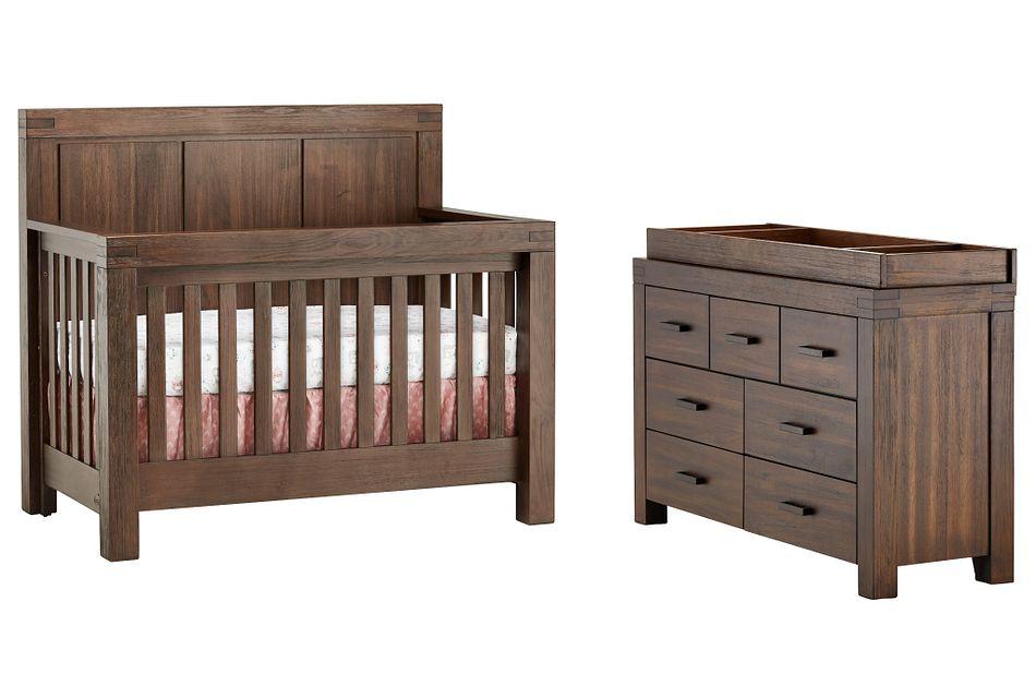 Piermont Mid Tone Small Crib Bedroom,  (0)