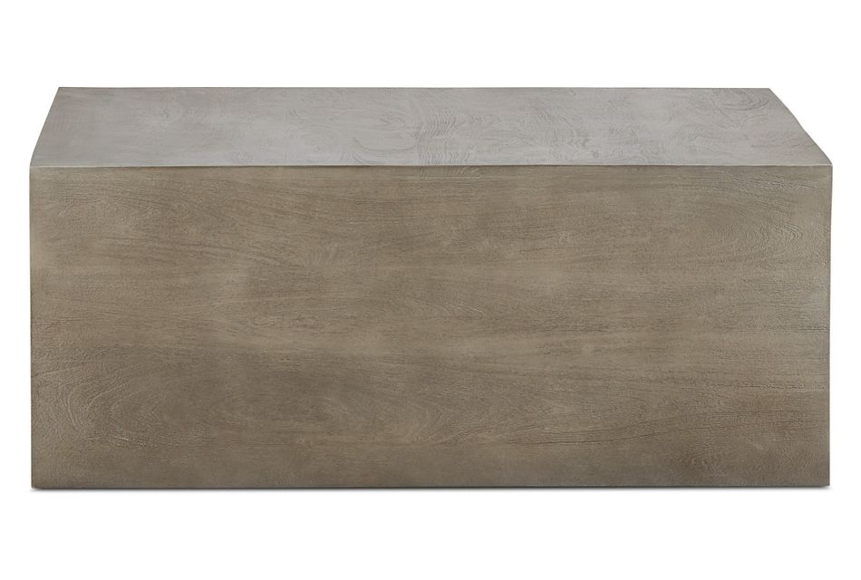 Ray Light Tone  Square Coffee Table,  (1)