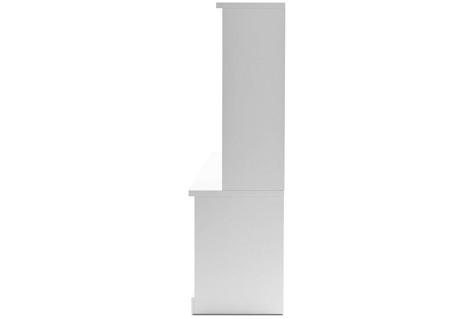 Newport White Medium Entertainment Wall