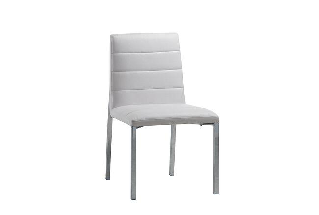 Amalfi White Uph Side Chair