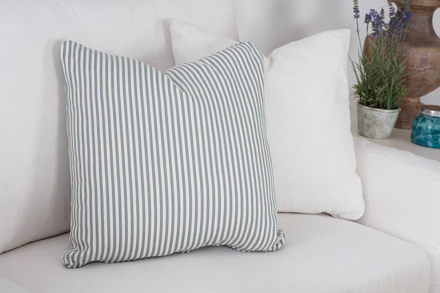 Longboard Blue Stripe Accent Pillow (1)