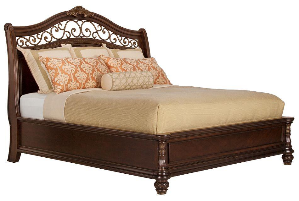 Tradewinds Dark Tone  Platform Bed