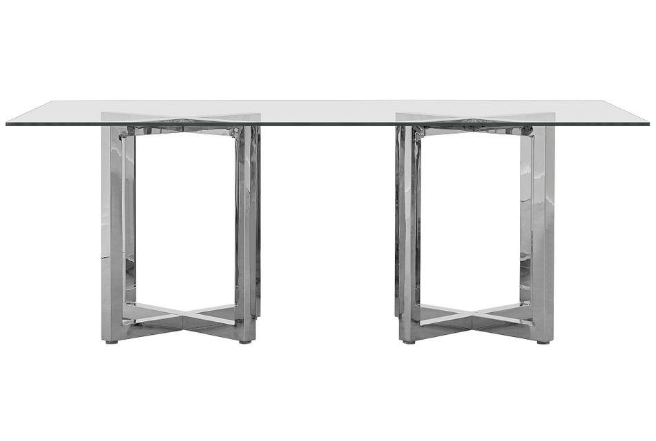 Amalfi Glass Rectangular Table