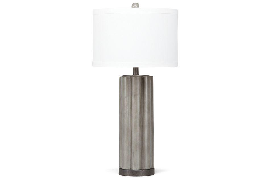 Brighton Gray  Table Lamp,  (2)