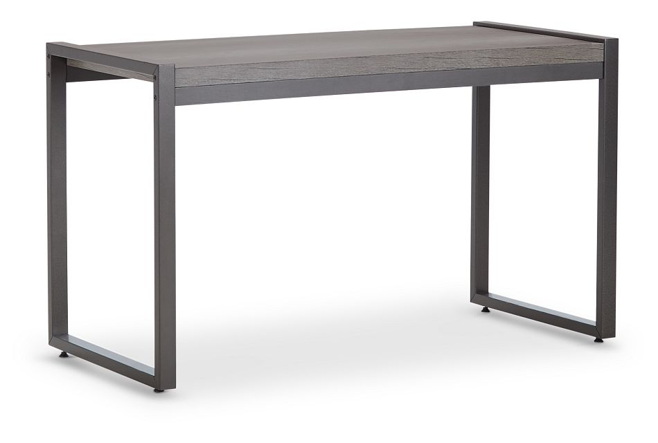 Milton Gray Writing Desk, %%bed_Size%% (2)